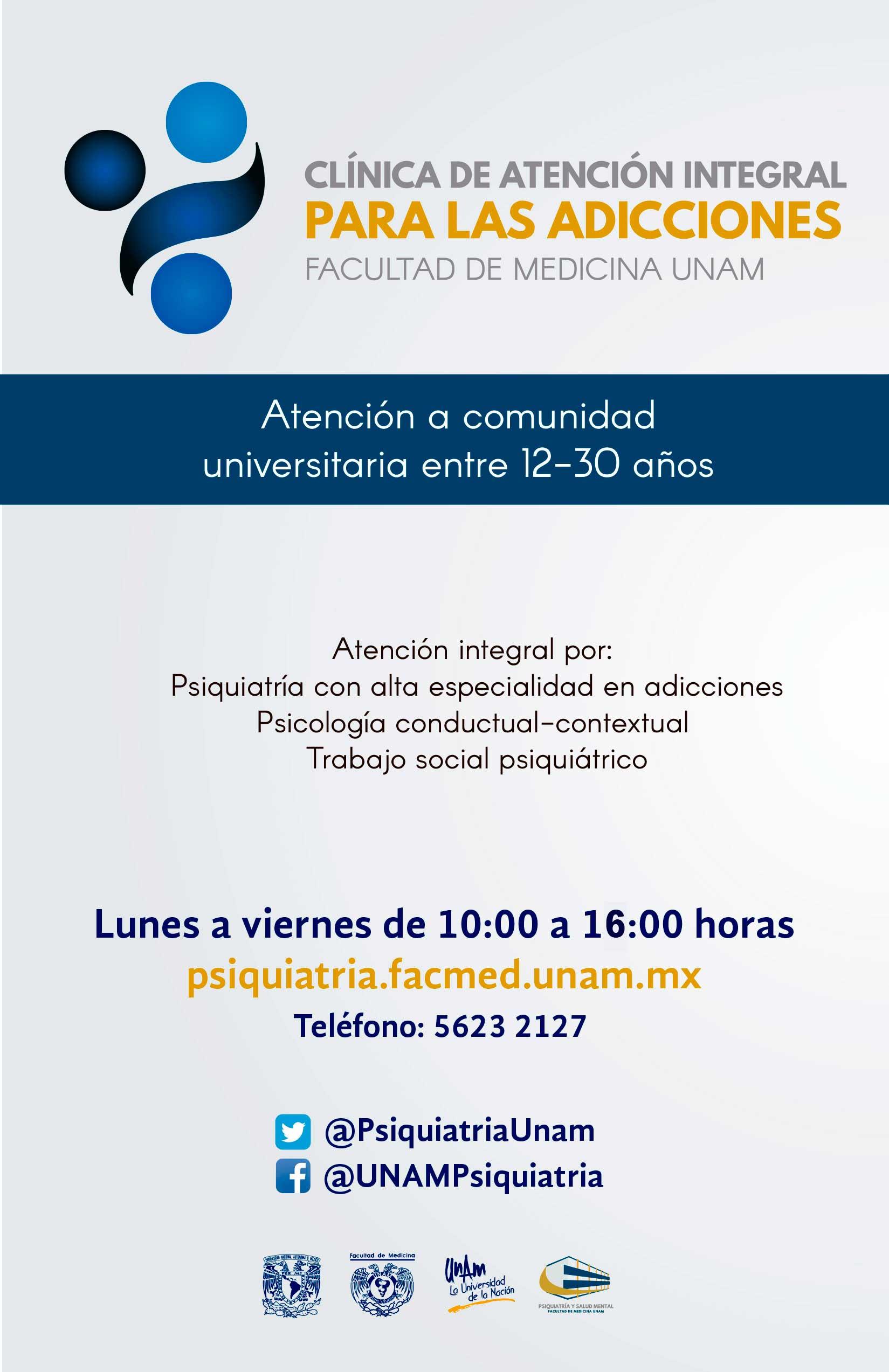 Unam portal unam clnica de atencin integral para las adicciones facultad de medicina unam mxico fandeluxe Gallery