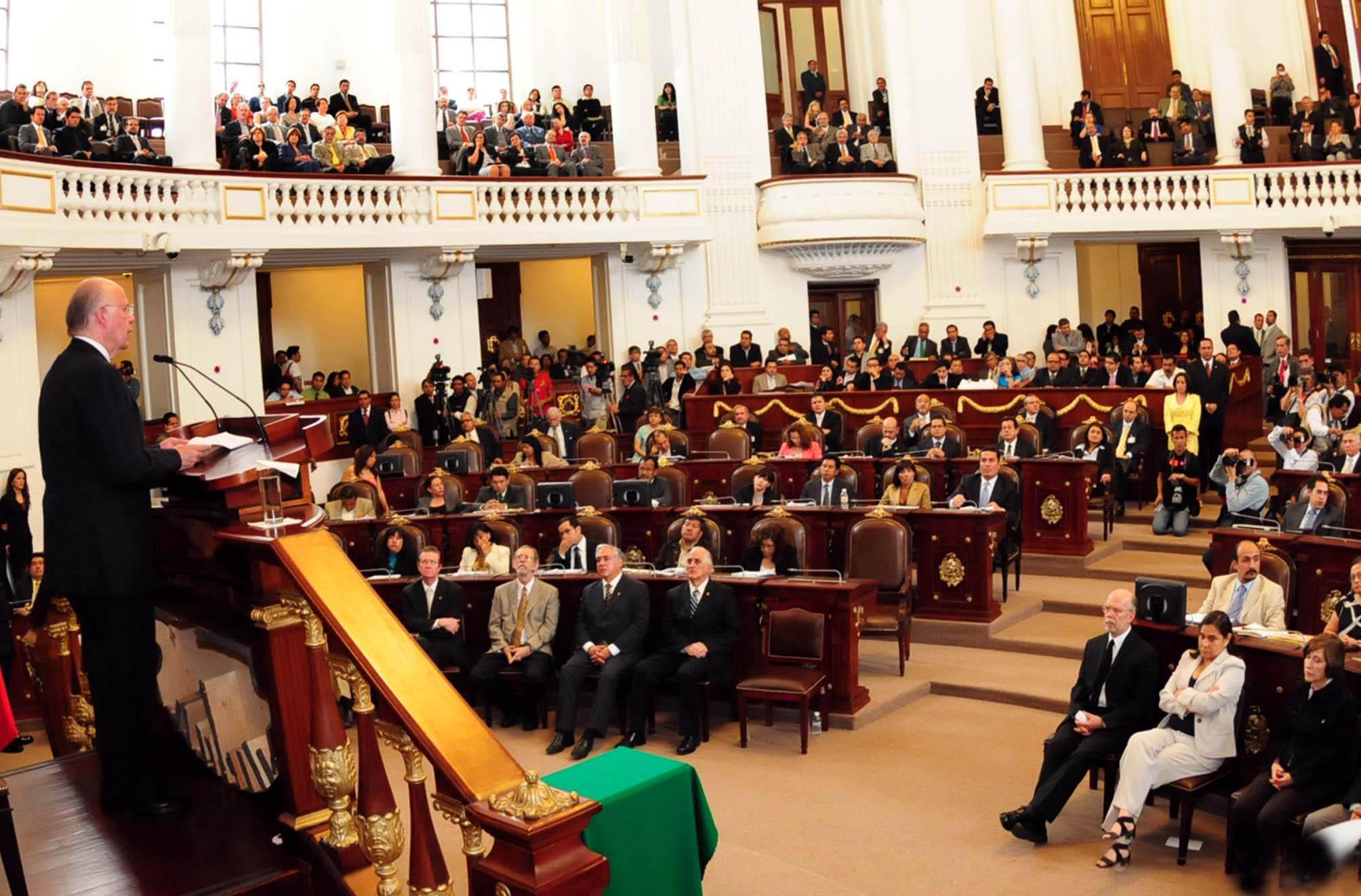 Asamblea Distrito Federal Del Distrito Federal