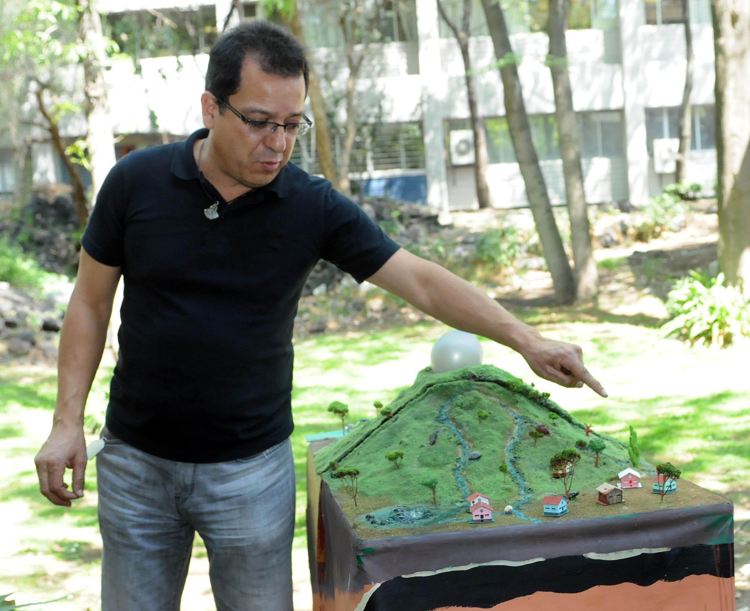 Juan Carlos Mora Chaparro señaló que la maqueta ayudará a que las