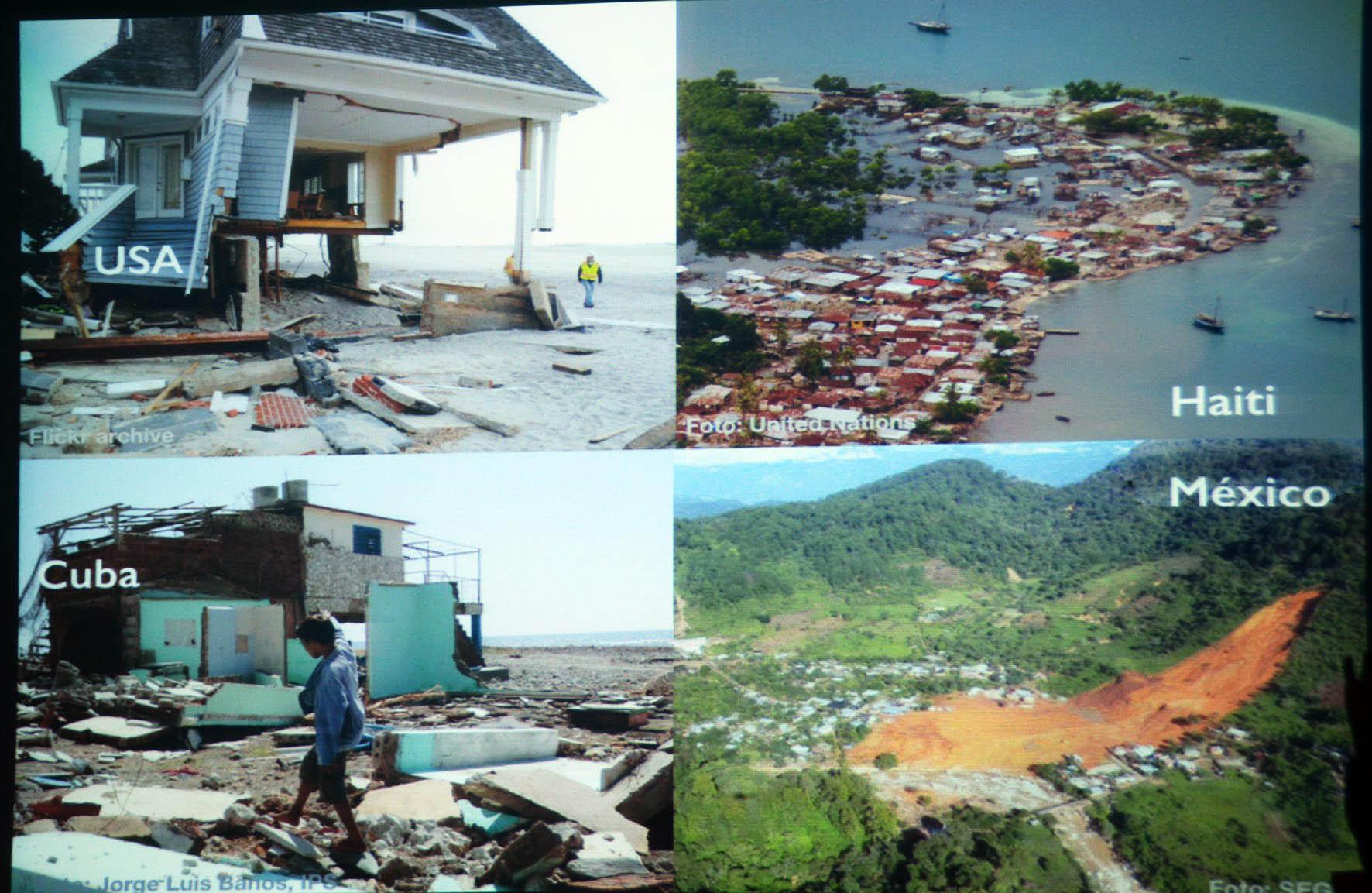 Obstaculizan desastres el avance sostenible particularmente de países en desarrollo: UNAM