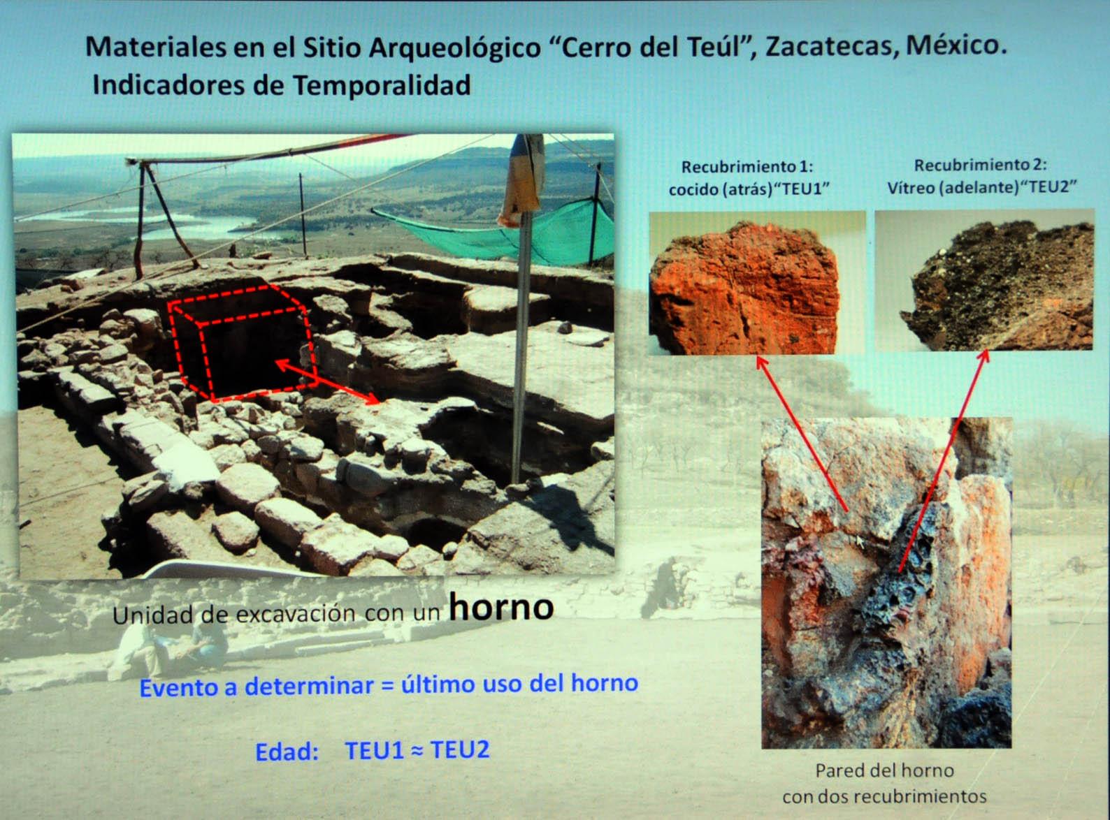 Datación con termoluminiscencia, herramienta para establecer la cronología de un sitio arqueológico: UNAM