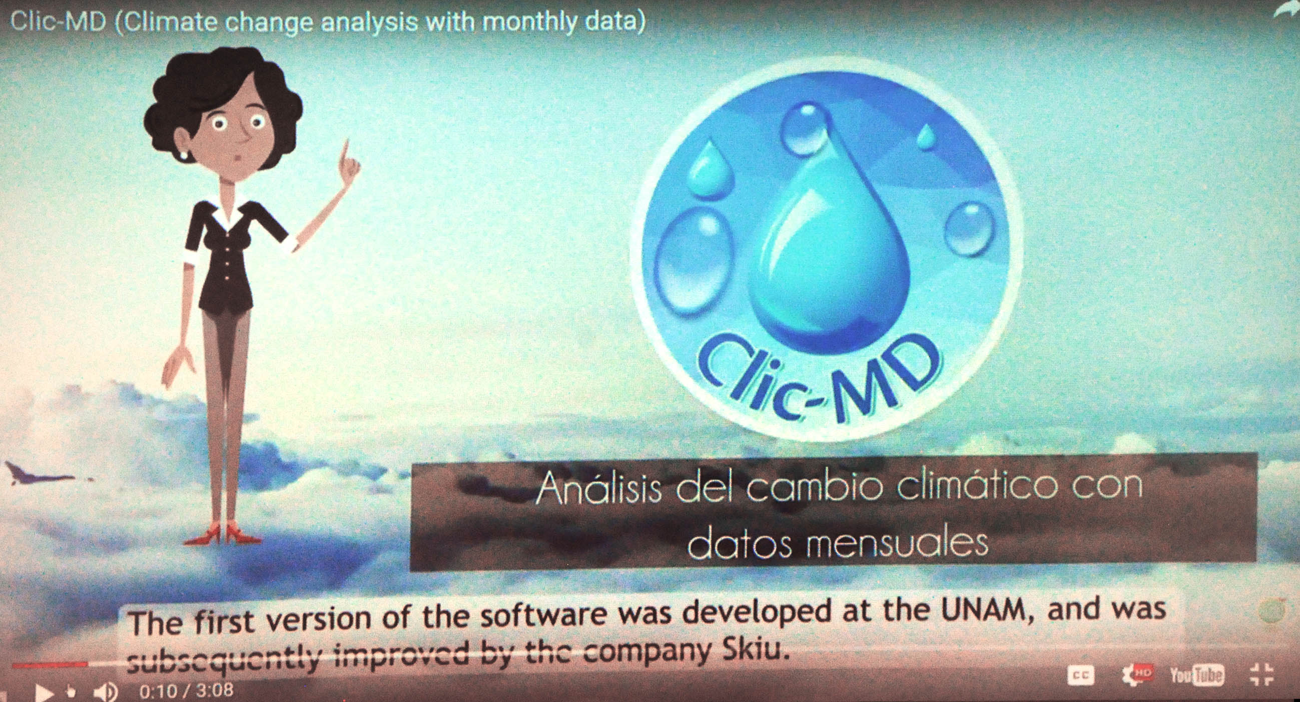 Crea UNAM software para identificar tendencias del cambio climático
