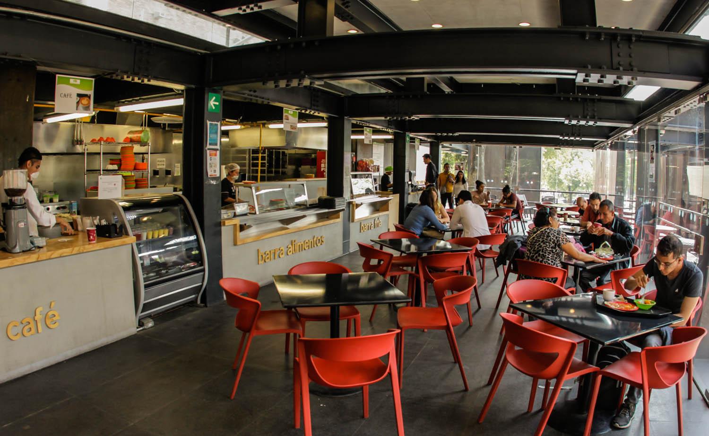 Por su arquitectura distinguen a la cafeter a de la for Facultad de arquitectura una