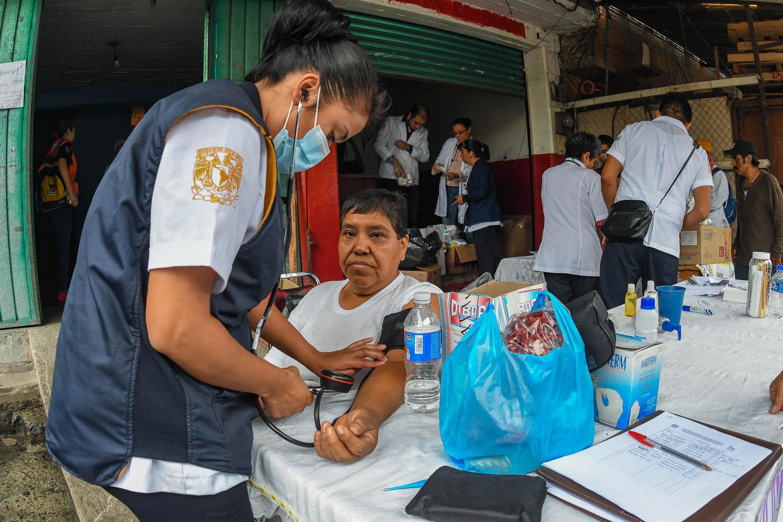 Apoya FES-UNAM Zaragoza a damnificados de Xochimilco en salud y asistencia psicológica