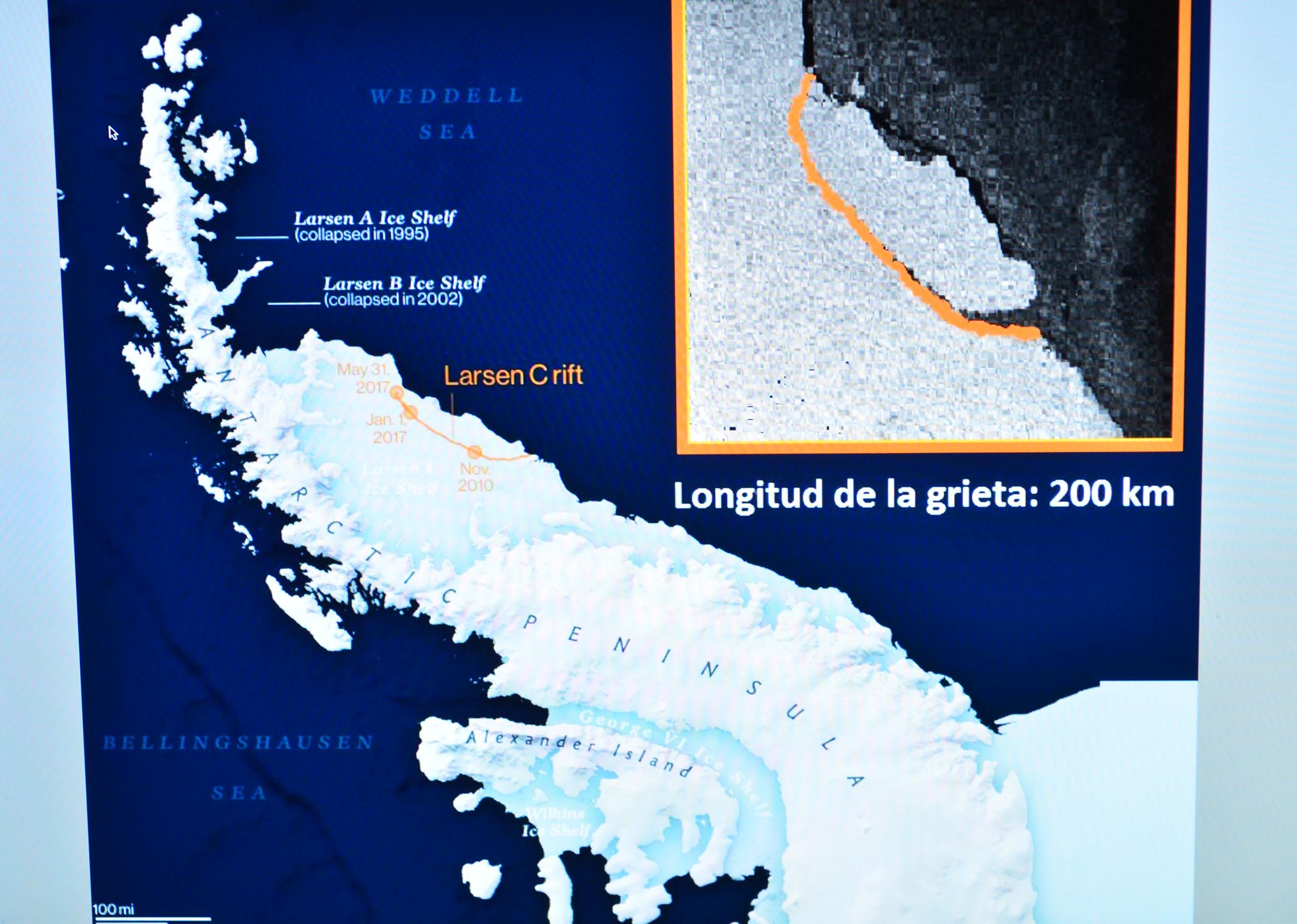 Si se deshiela el iceberg de la Antártida sería una catástrofe para la población de los litorales-UNAM