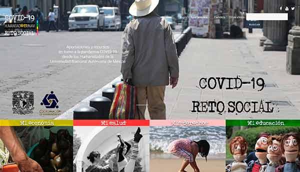 Reflexiones sobre la pandemia desde la perspectiva de las humanidades, disponible en la UNAM [497]