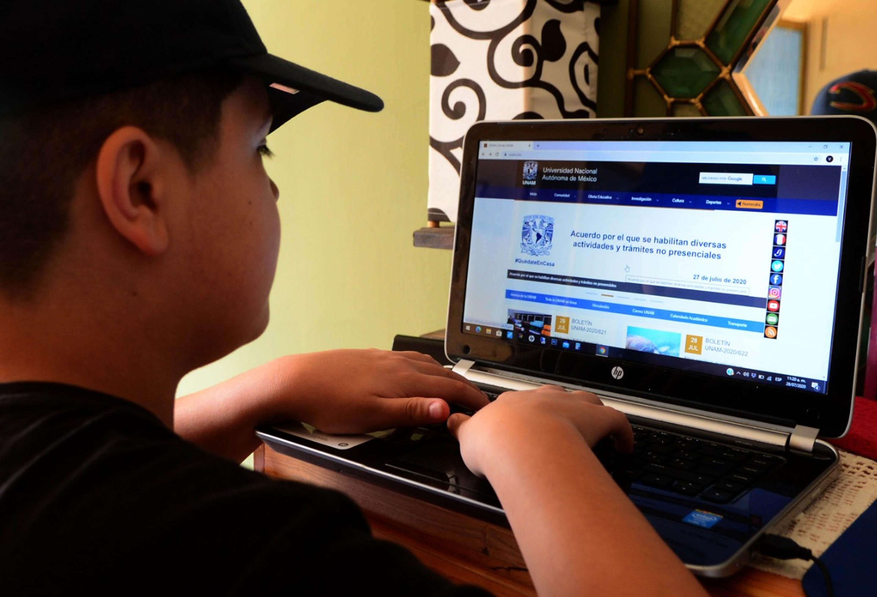 Educación en línea, igual de eficiente como la presencial