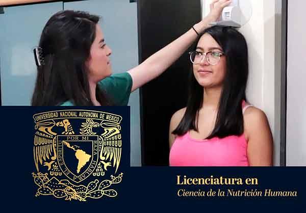 Aprueba CU de la UNAM licenciatura en Ciencia de la Nutrición Humana; es la  número 130 que oferta